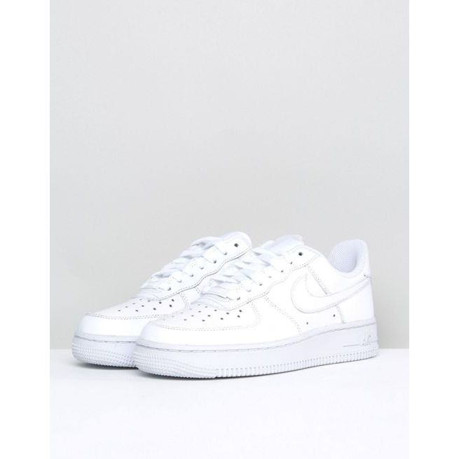 White Nike In Trainers Patent Air Force 1 '07 wOvN8n0my