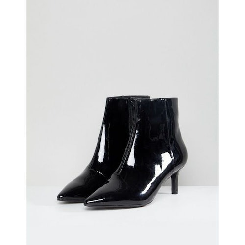 fde73c3512 Faith Patent Ankle Boot in Black